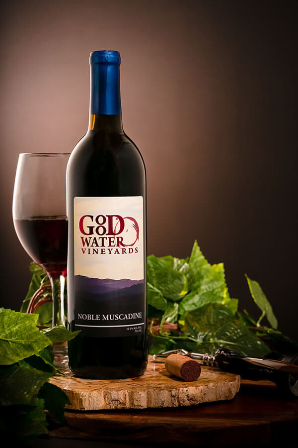 Noble Muscadine | Tennessee Wine from Gooodwater Vineyards